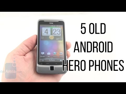 5 Old Android Hero Phones That Seem Barely Usable Today