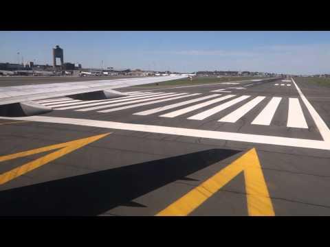 Landing in Boston- Logan International Airport
