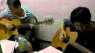 ネットライブで山弦のTrivia を演奏しました。 耳コピですので、正確で...