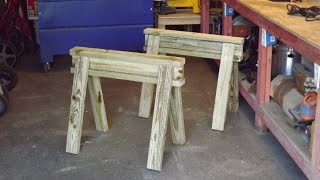 Making Great Sawhorses