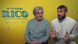 Álvaro Fernández-Armero y Álex García presentan 'Si yo fuera rico'