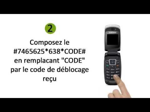 Comment Débloquer un Téléphone Samsung C270
