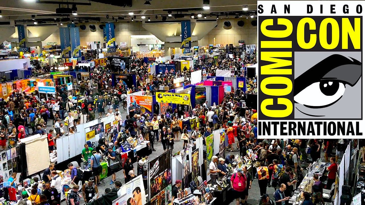 San Diego Comic Con 2019 Tour Youtube
