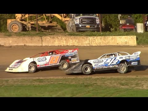 RUSH Crate Late Model B-Main | Eriez Speedway | 9-23-18