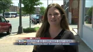 Feds shut down 26 discount bus companies