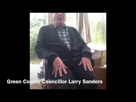 Larry Sanders, a Green councillor, on Oxford and the world