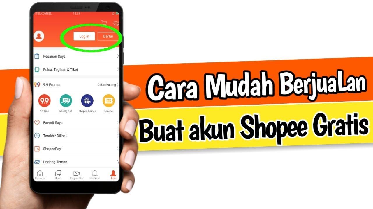 Cara Daftar Seller Di Shopee Marketplace Youtube