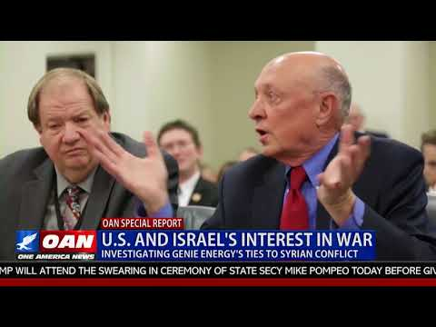 U.S. & Israel's Interest in War -- Investigating Genie Energy's Ties to Syrian Conflict