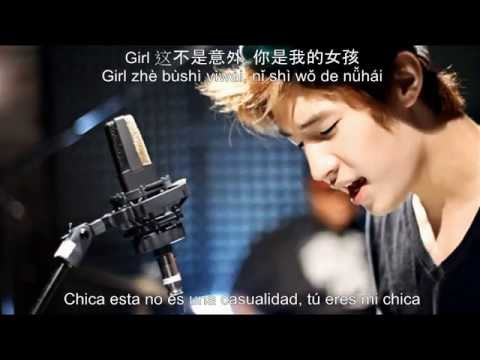Henry Lau (Super Junior-M) - Off My Mind - (Sub español + Pinyin + Chino)