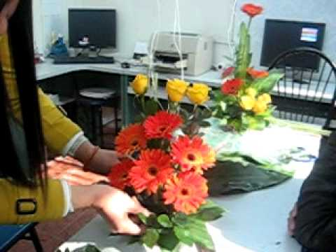 Day cam hoa, Hoc cam hoa, Nữ Công Gia Chánh Thanh Mai, 25-12-2011.avi