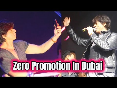 Shah Rukh Khan In Dubai For ZERO Film Promotion |