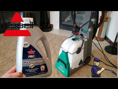 Bissell Deep Clean Pro 2X Deep Cleaning Carpet Shampoo Review | Model 78H63