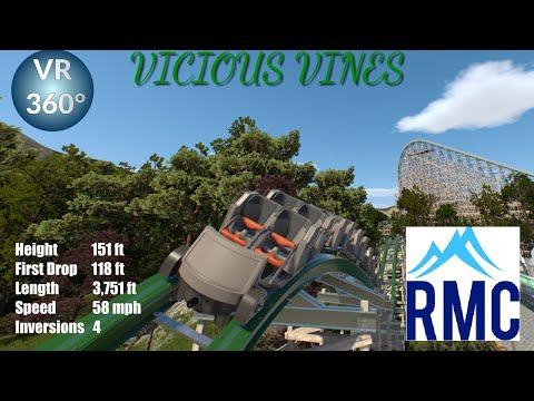 Vicious Vines| VR 360° POV| Nolimits 2|