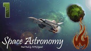 Minecraft FTB: Space Astronomy - #1 Знакомство с миром.
