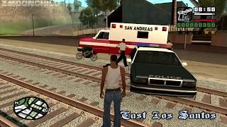 GTA San Andreas - How to do the first mission at the very beginning of the game