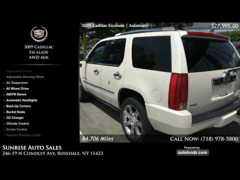Used 2009 Cadillac Escalade | Sunrise Auto Sales, Rosedale, NY