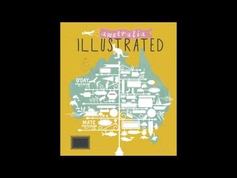 Australia Illustrated Cover Construct