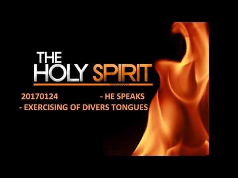 HOLY GHOST SPEAKS 20170124