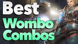 Best Zarya Wombo Combos Montage - Overwatch