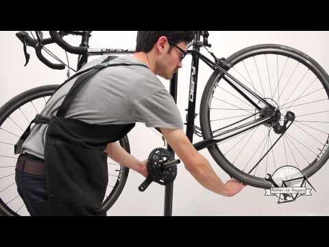Extraction installation pedalier hollowtech II velo