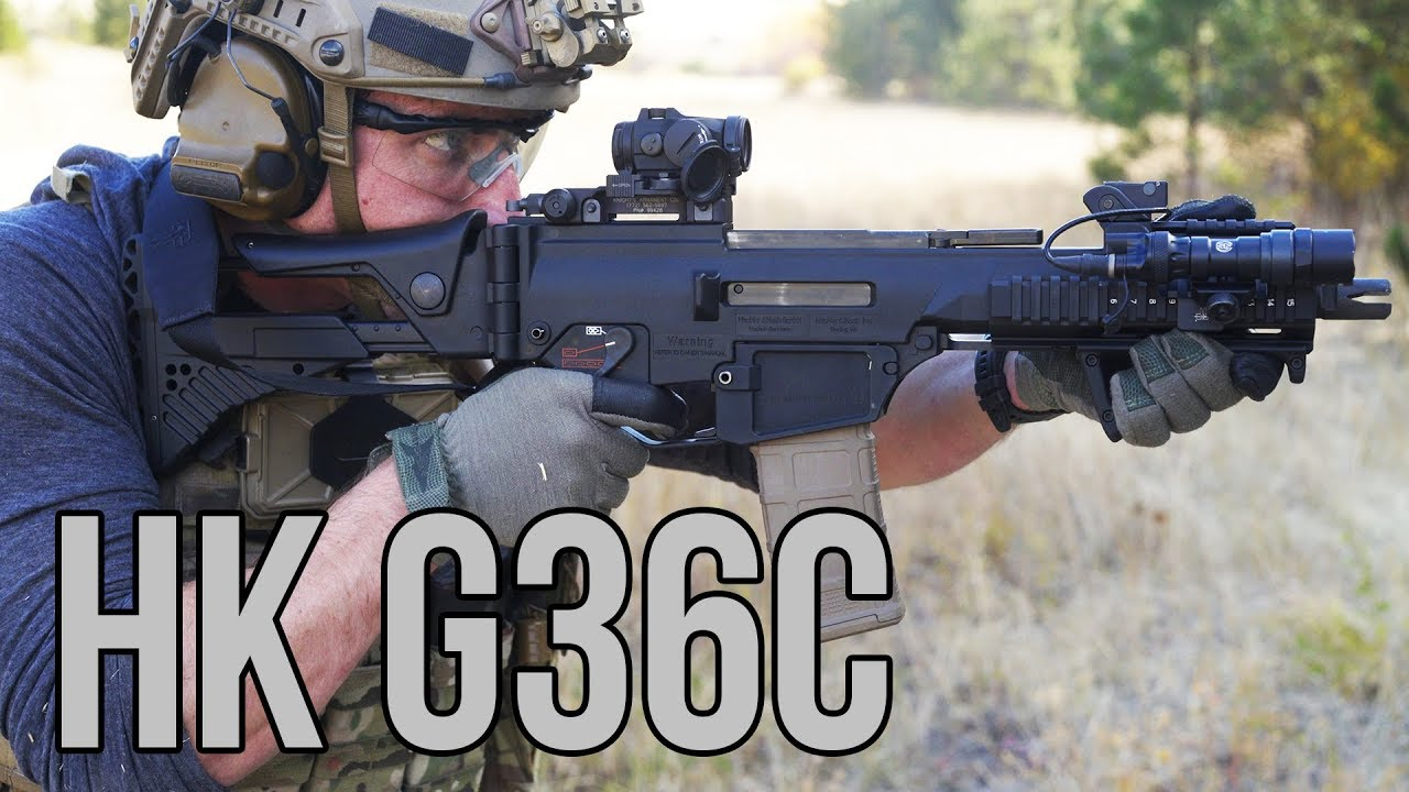 A look at the ultra-short and ultra-sweet HK G36C (VIDEO