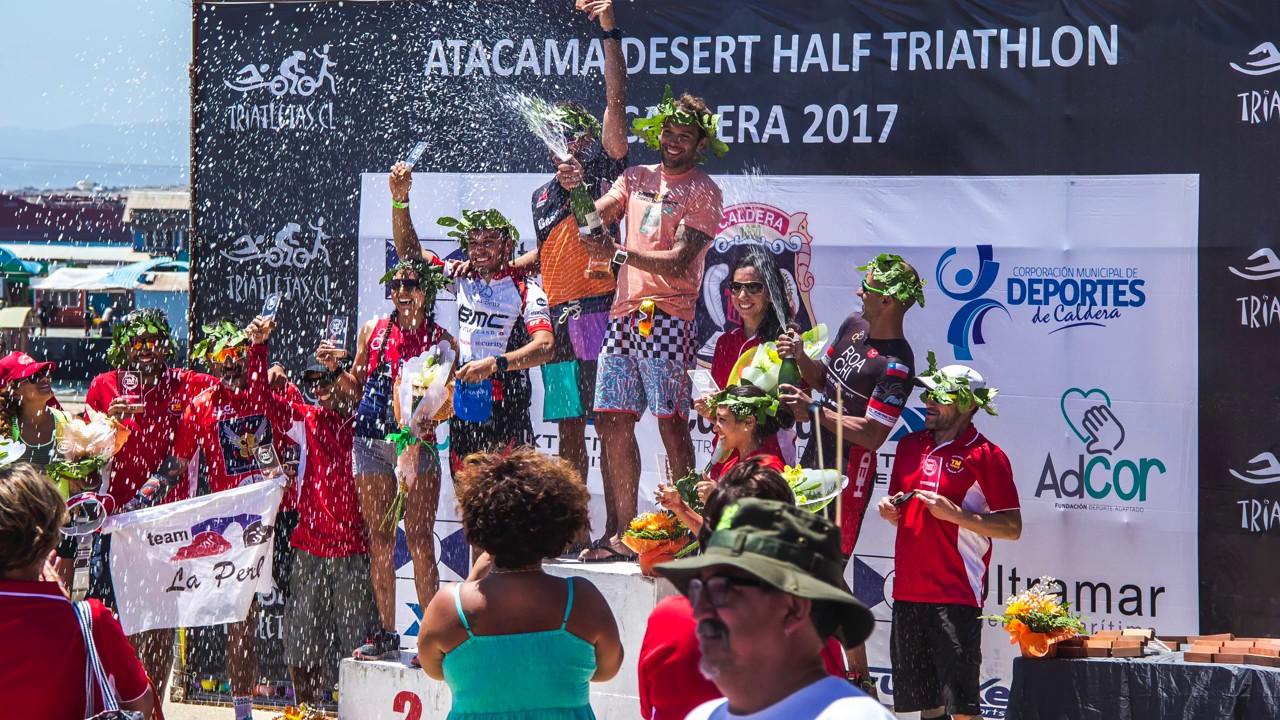 Atacama Desert Triathlon HALF Caldera 2017 - YouTube