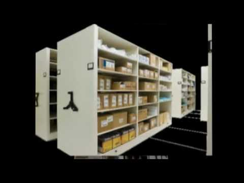 Spacesaver Compact Racks & Shelving For Anything Ph 1-800-255-8170