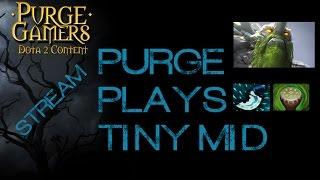Dota 2 Purge plays Tiny