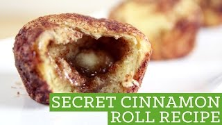 Quick Easy Cinnamon Rolls! Secret Recipe - Mind Over Munch