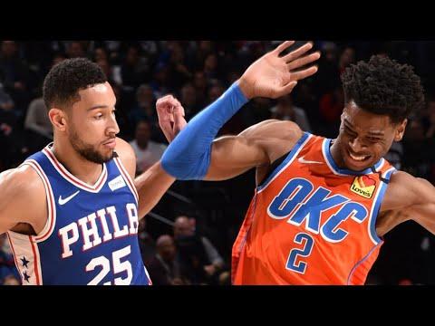 Oklahoma City Thunder vs Philadelphia 76ers Full Game Highlights | January 6, 2019-20 NBA Season