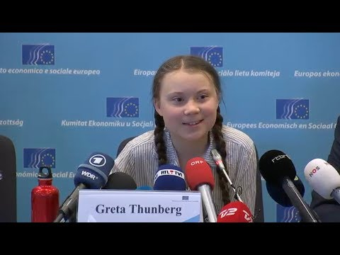 "Climate activist Greta Thunberg: ""I hope Angela Merkel doesn't think we are Russian spies"""