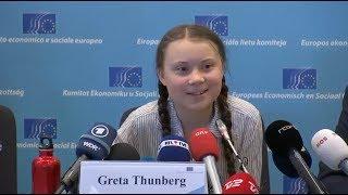 Climate activist Greta Thunberg: