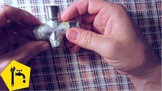 Ремонт переключателя смесителя в ванную(Ремонт переключателя смесителя в ванной: проводим замену прокладок и отдельных деталей - это поможет продл..., 2016-04-22T21:35:06.000Z)