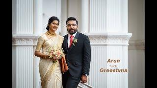 Arun weds Greeshma