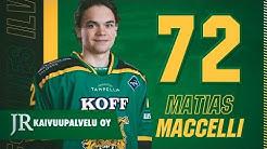 Matias Maccelli Goals 2019-20 (First half of the season)