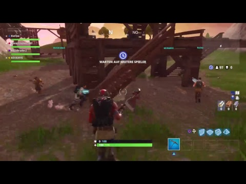 Fortnite Livestream. Epischer Sieg!