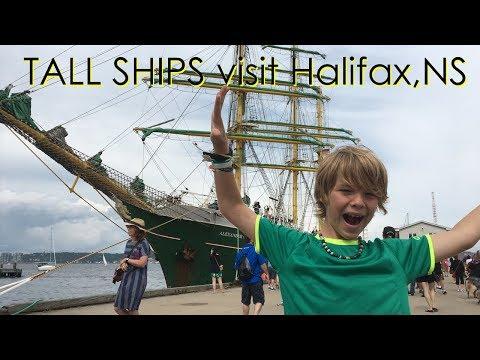 Tall Ships Regatta visit Halifax, Nova Scotia
