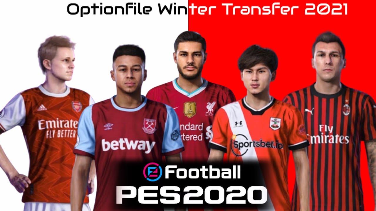 Option file PES2020 v.3 Winter Season Transfer