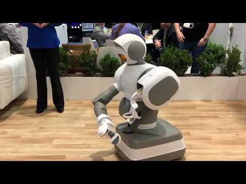 Aeolus Robotics Household Assistant Robot #CES2018