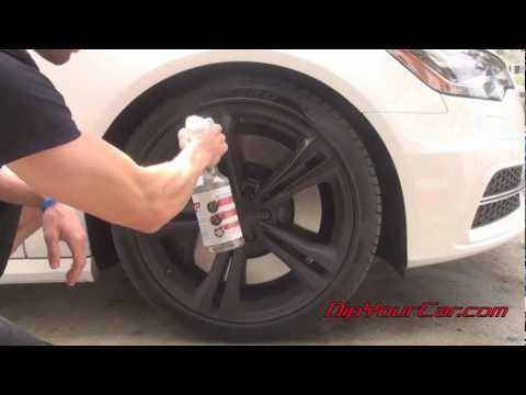 How to Clean Plasti Dipped Wheels - Brake Dust Pro
