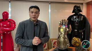 INFINITY GAUNTLET AVENGERS INFINITY WAR LIFE-SIZE UNBOXING by Hot Toys | Ryan Sison
