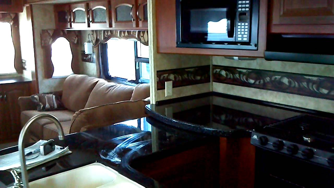 Cougar 5Th Wheel >> 2012 Cougar 327RES Fifth 5th Wheel Travel Trailer ...