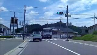 阪和道 有田ICから県道22号吉備金屋線を走る