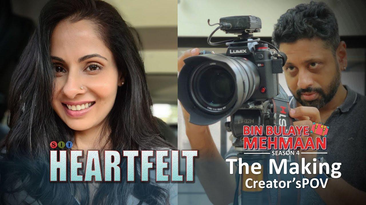 SIT   BIN BULAYE MEHMAAN   Web Series   THE MAKING   Chhavi Mittal   Mohit Hussein