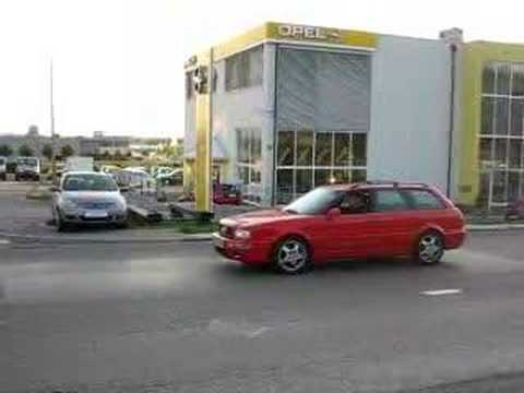 Audi RS2 crazy acceleration