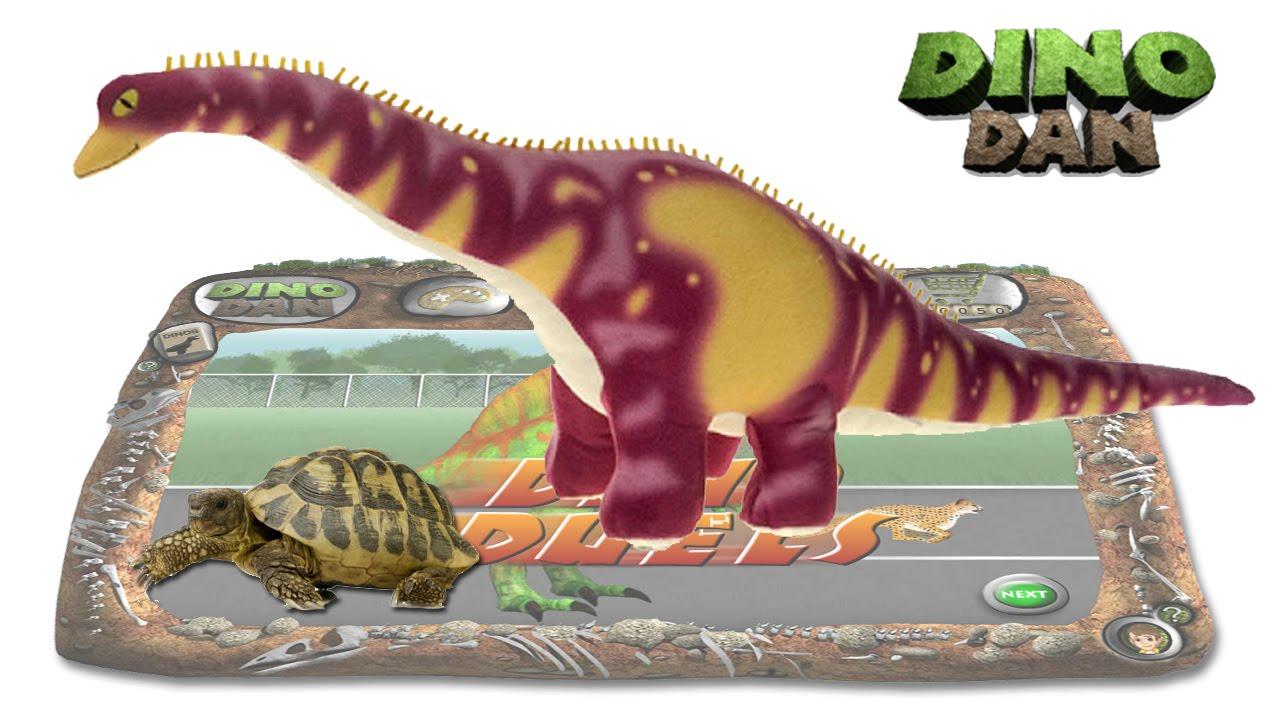 Dino dan dino duels 28 brachiosaurus vs tortoise - Dinosaure diplodocus ...