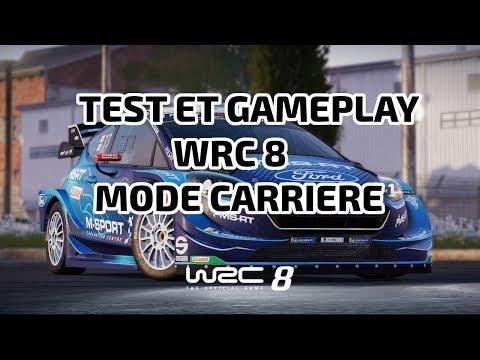 wrc8-:-test-et-mode-carriere-!-fanatec-csl-elite