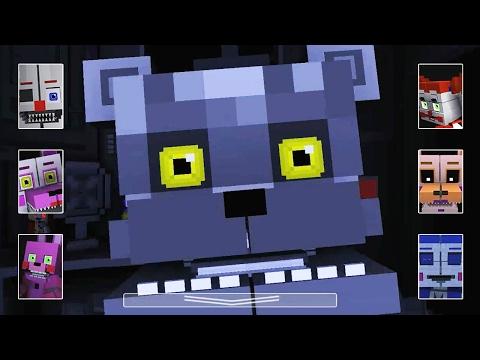 Ennard's Night - All Jumpscares | FNAF SL Minecraft