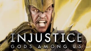 Injustice - БРЕЙН VS РЕЙН (БИТВА ГЕРОЕВ)
