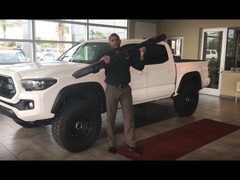 How To Install Crossbars On A 2017 Toyota Tacoma
